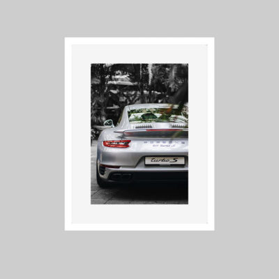 porsche colour white